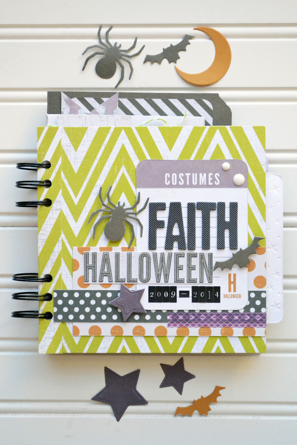 Halloween Costume Mini Album by Aly Dosdall