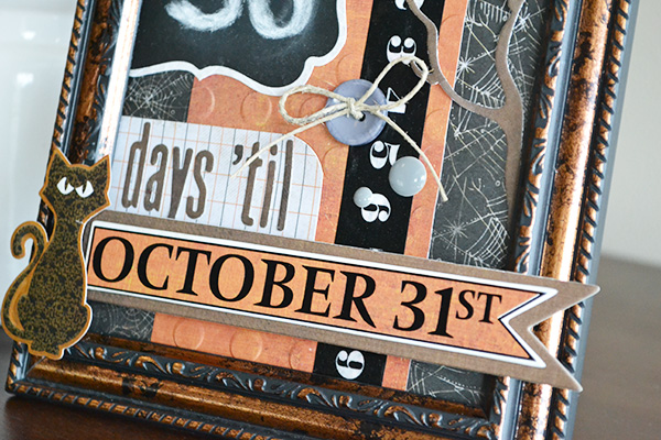 Halloween Countdown by Aly Dosdall_close 2