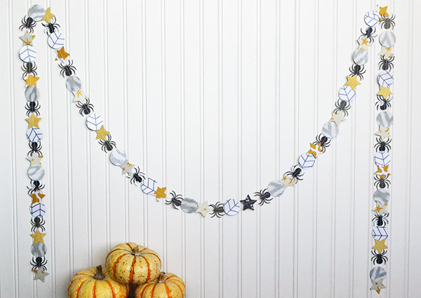 Halloween Party Garland by Aly Dosdall