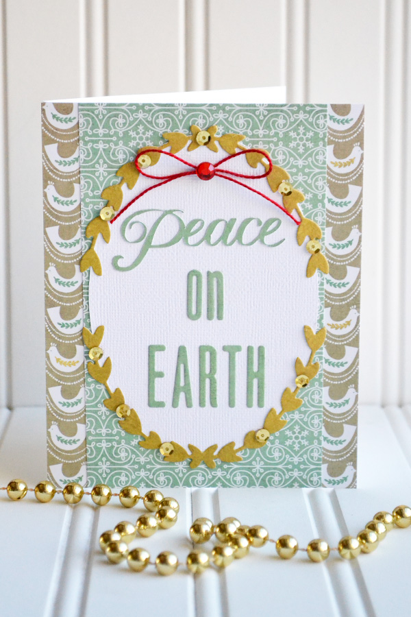 Peace On Earth Card by Aly Dosdall