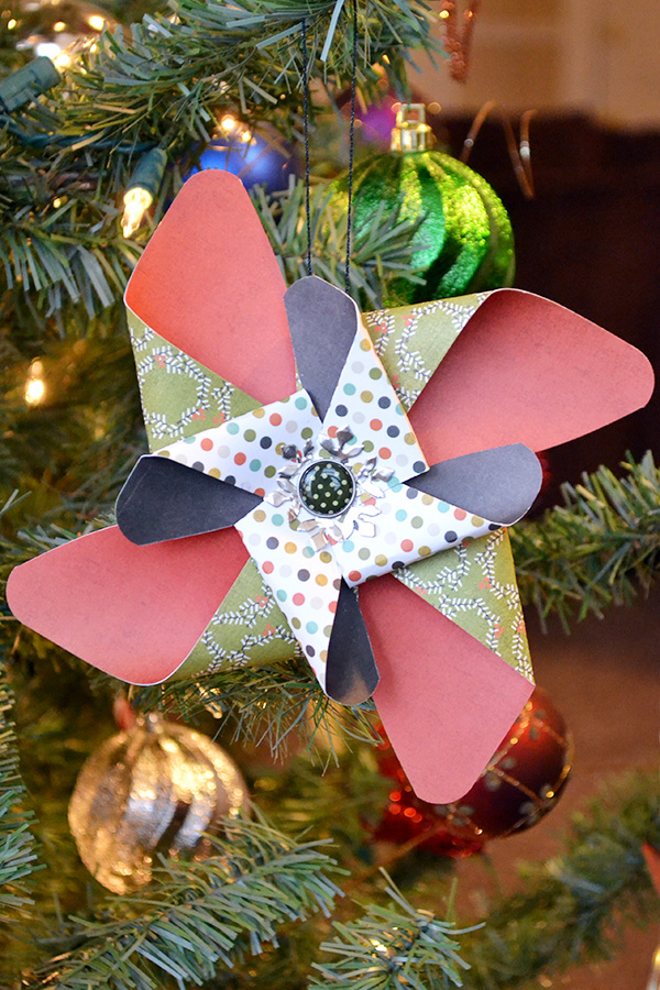 Pinwheel Ornament by Aly Dosdall