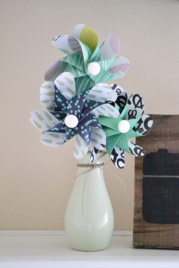Pinwheel Bouquet by Aly Dosdall 2