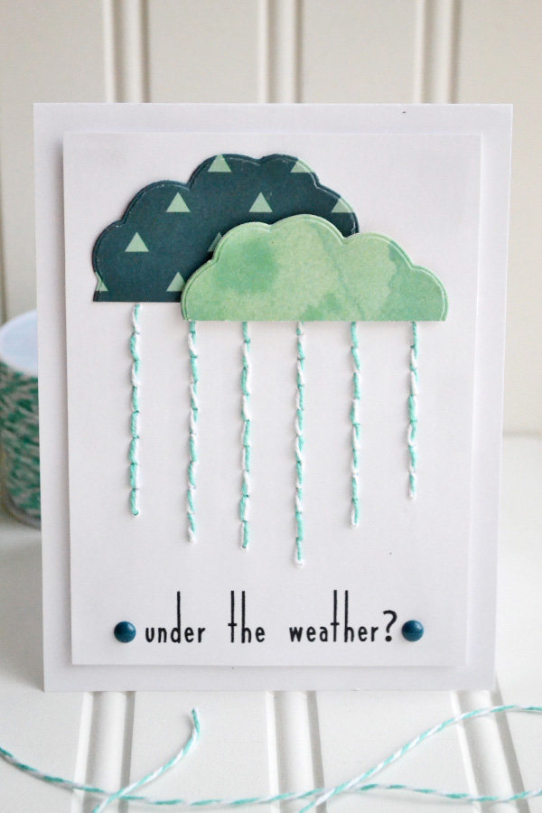Under The Weather Card by Aly Dosdall