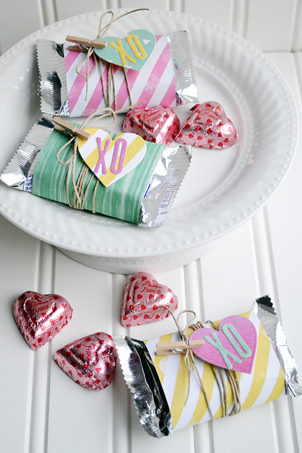 Valentine Candy Bar Wrappers by Aly Dosdall