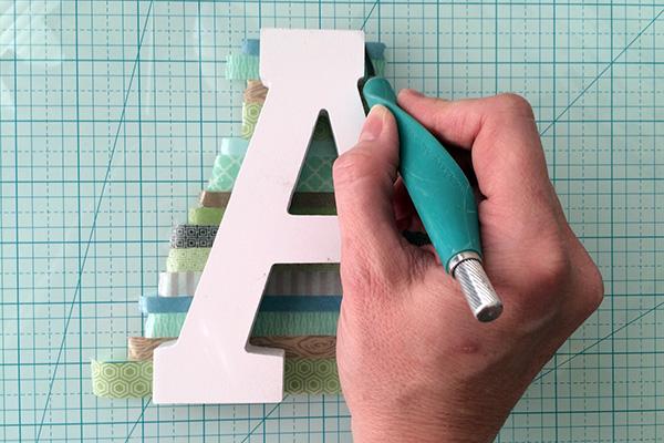 washi tape letter 2