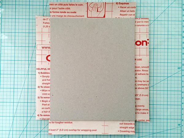 washi tape letter 4