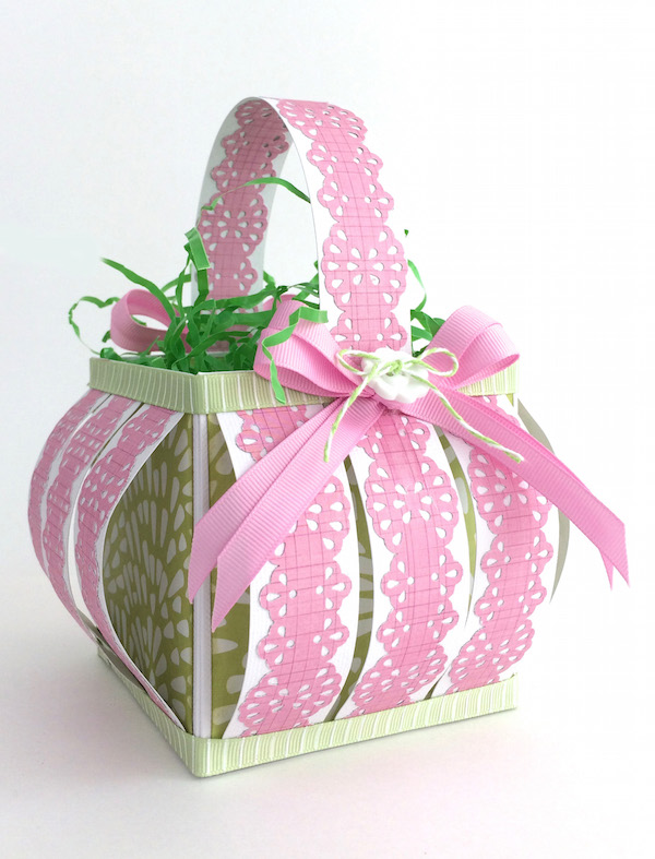 Gift box punch board we r memory keepers blog an easter basket created with punches negle Gallery
