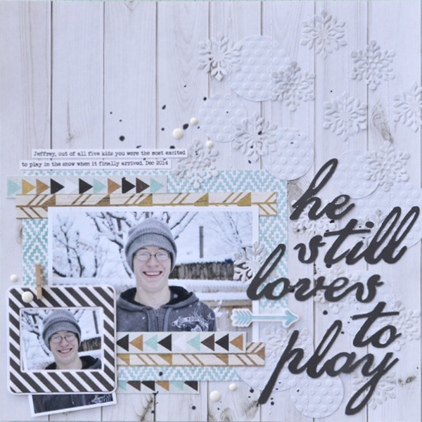 He Still Loves To Play by Aly Dosdall