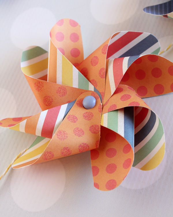Pinwheel Birthday Banner by Samantha Taylor 2