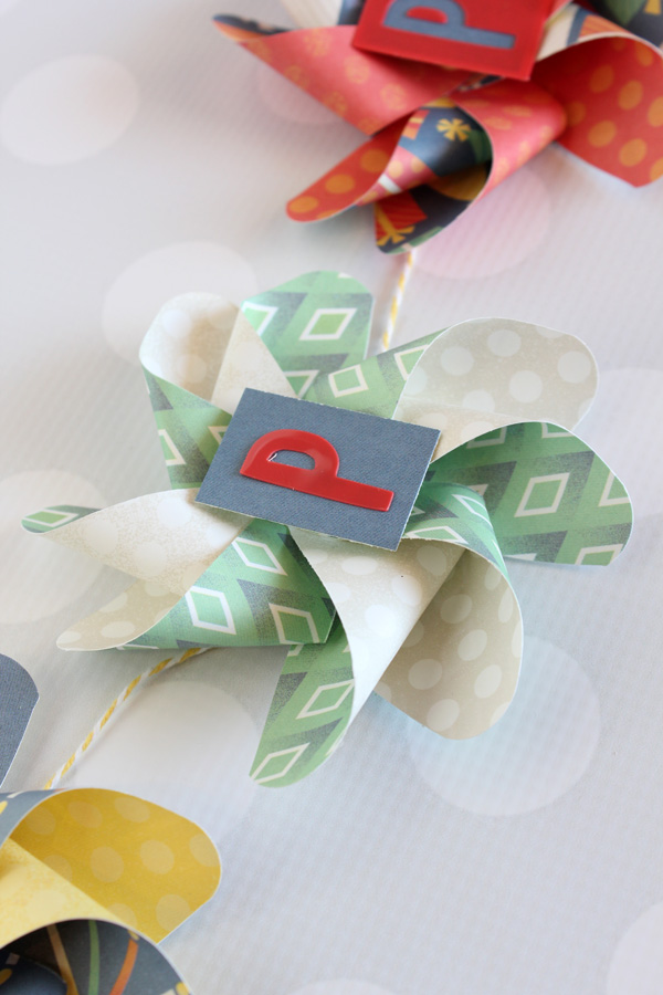 Pinwheel Birthday Banner by Samantha Taylor 5