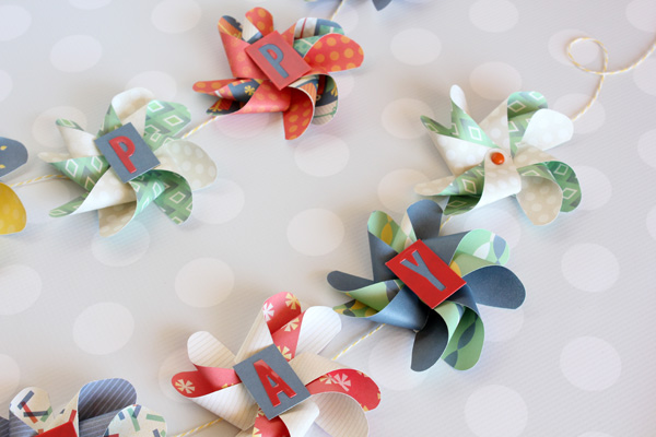 Pinwheel Birthday Banner by Samantha Taylor 6