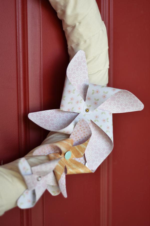 Shabby Chic Wreath by Jen McDermott 3