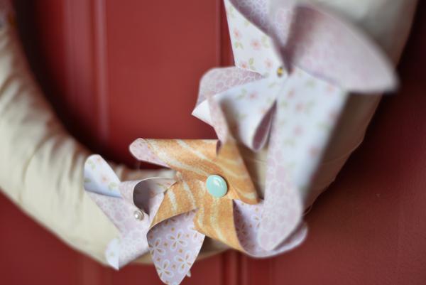 Shabby Chic Wreath by Jen McDermott 4
