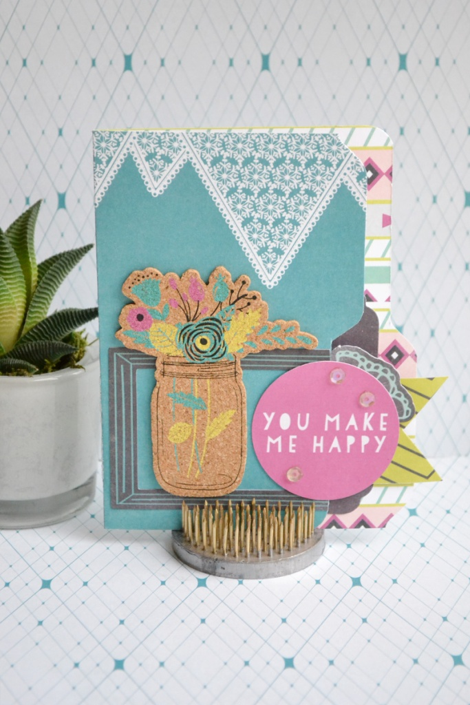 123 Punch Board File Folder Card by Aly Dosdall