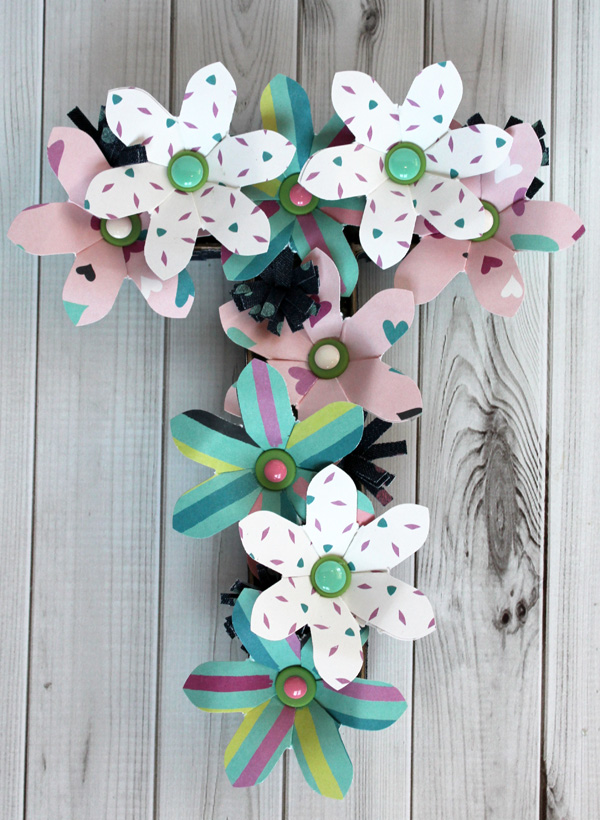 Flower Letters by Samantha Taylor 1