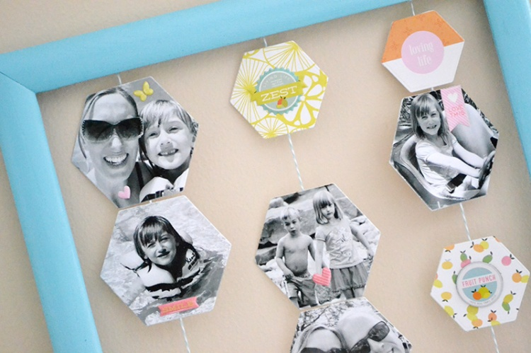 Summer Snapshots Photo Display using Evolution Advanced by Aly Dosdall_close 1