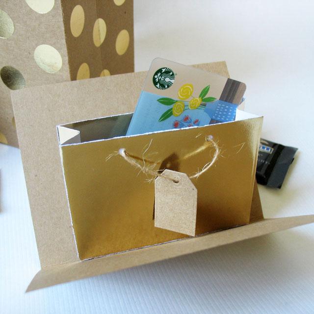 pop up gift bag die we r memory keepers blog. Black Bedroom Furniture Sets. Home Design Ideas