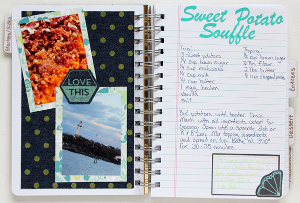 Eat Well Travel Often Mini Album by Samantha Taylor 3