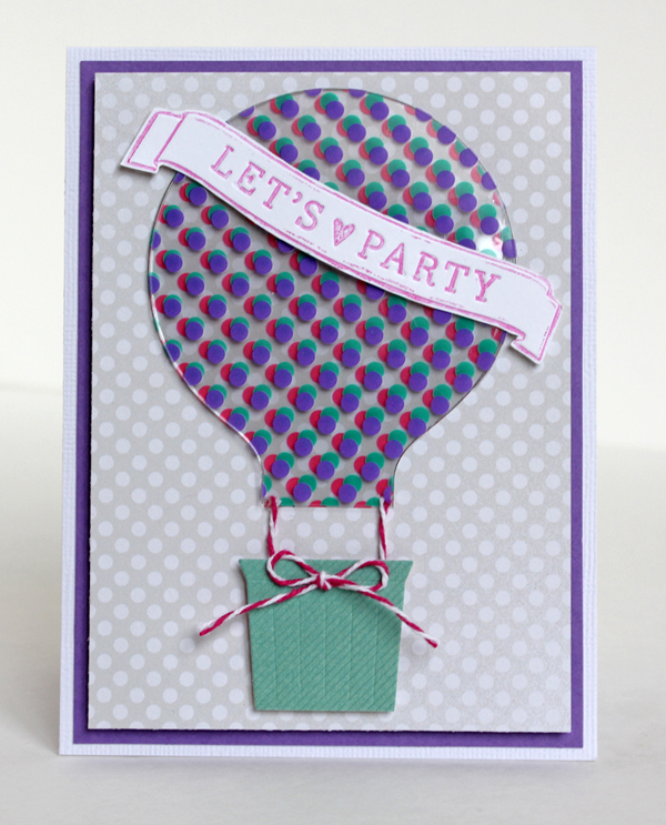 Hot Air Balloon Card by Samantha Taylor 2