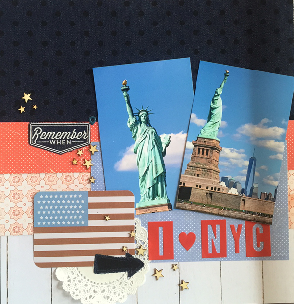 Patriotic Layout by Jen McDermott 1