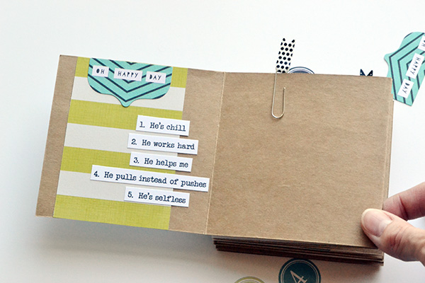 Template Studio Accordion Fold Fathers Day Album by Aly Dosdall 9