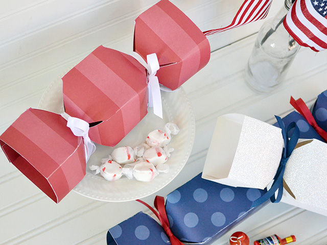 We R patriotic candy box party favors by aly dosdall