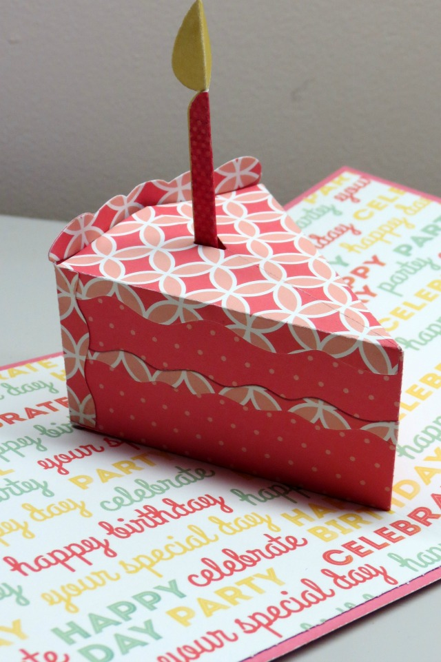Pop Up Birthday Card We R Memory Keepers Blog