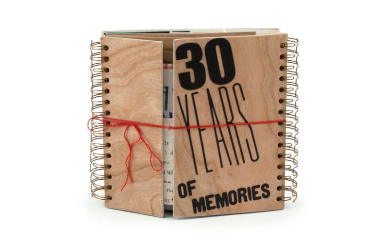 Cinch 30th Birthday Memory Book