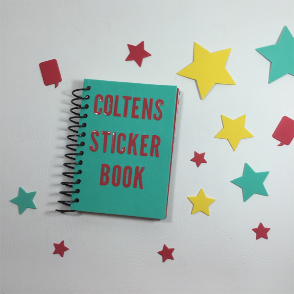 Kids Sticker Book by Aimee Maddern 1