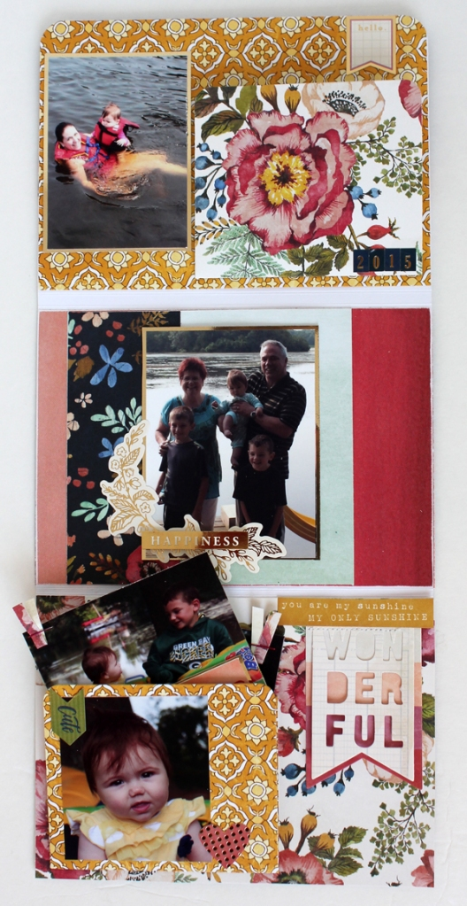 Using the Accordion Pocket Die in a Mini Album 5