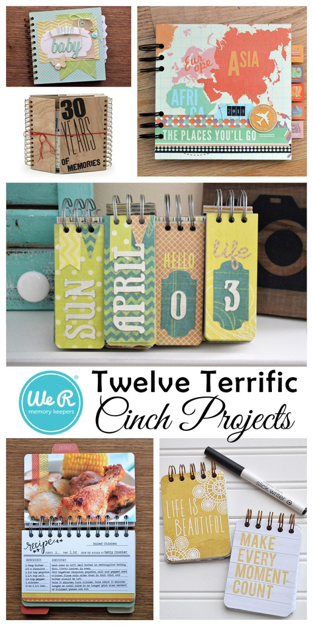 we r memory keepers twelve cinch projects