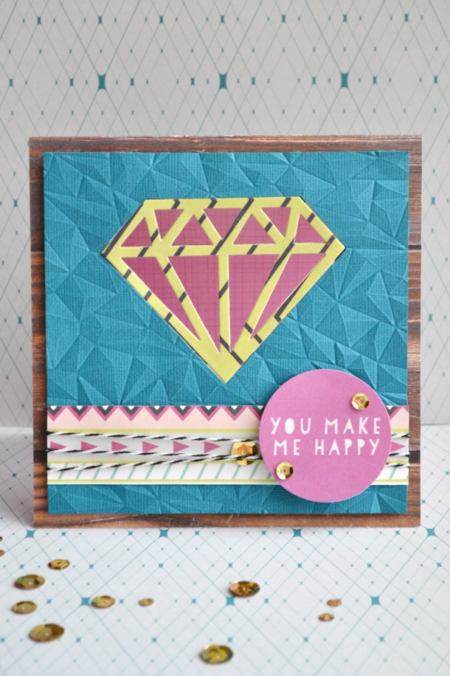 you make me happy window card by aly dosdall