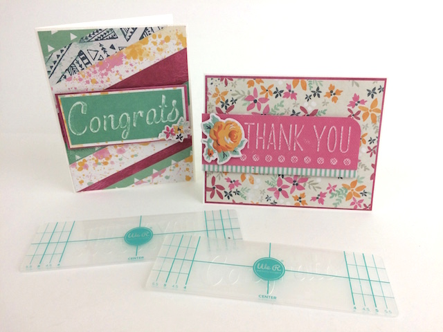Embossing strip cards by Traci Penrod1