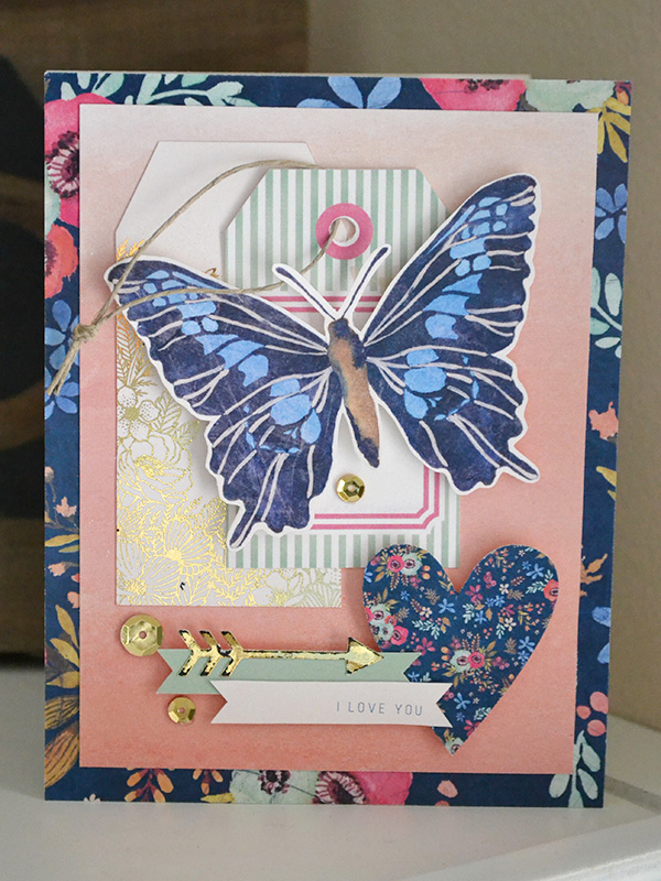 I Love You Card by Aly Dosdall
