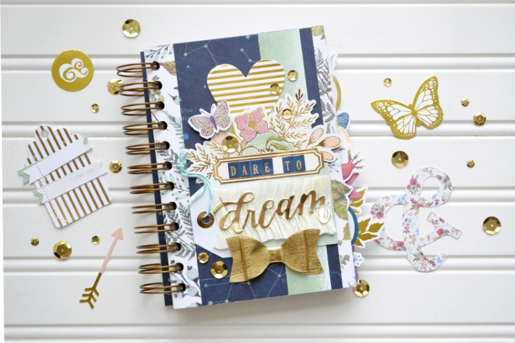 Dare to Dream envelope mini album by Aly Dosdall_flat