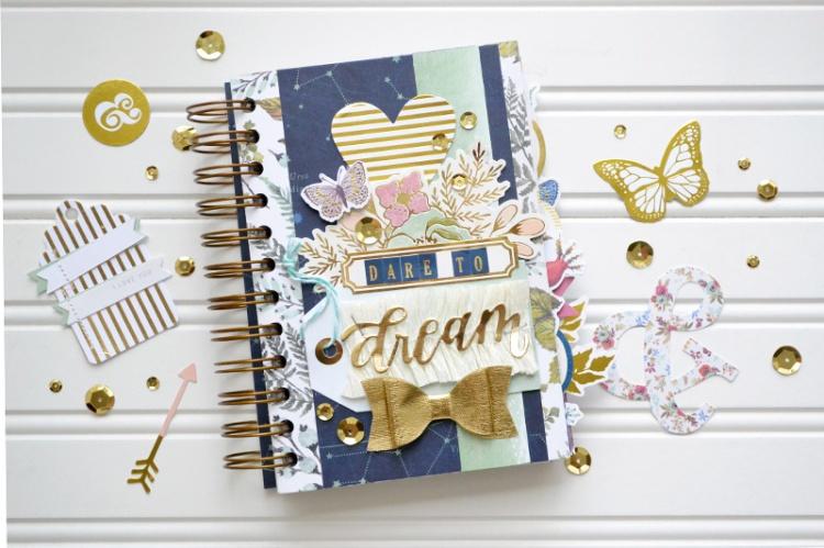 Dare to Dream envelope mini album by Aly Dosdall_flat