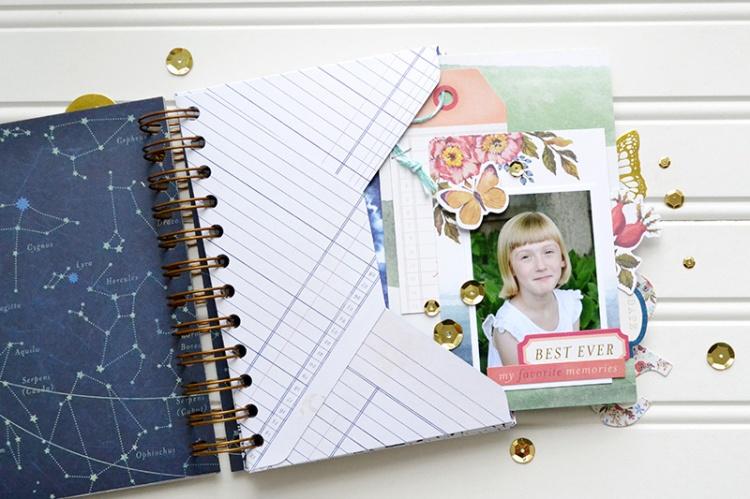 Dare to Dream envelope mini album page1 by Aly Dosdall