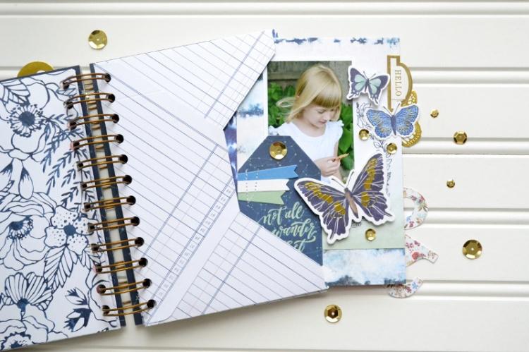 Dare to Dream envelope mini album page2 by Aly Dosdall