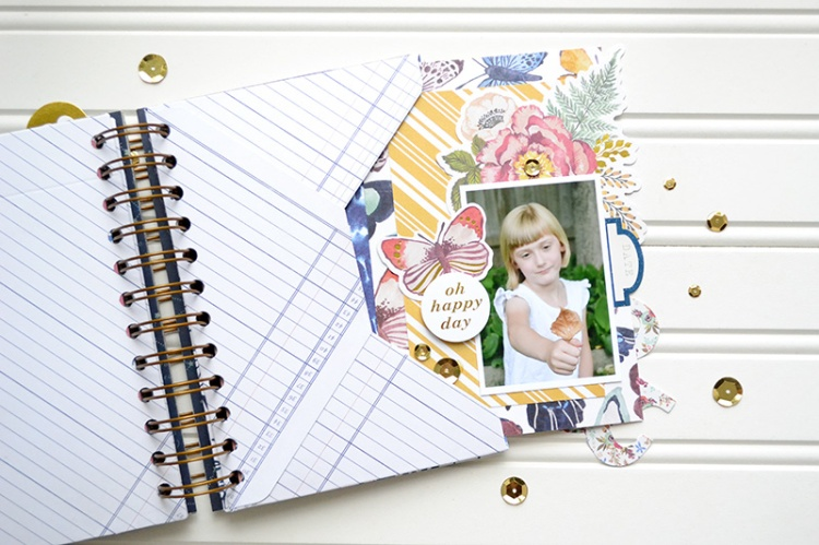Dare to Dream envelope mini album page3 by Aly Dosdall