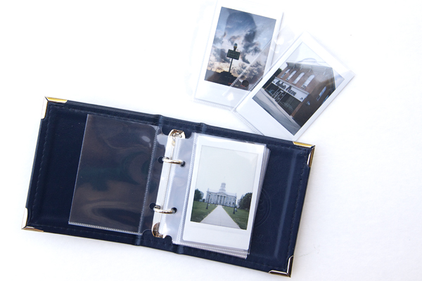 Instax Album by Jennie McGarvey for We R Memory Keepers #instax #instaxalbum