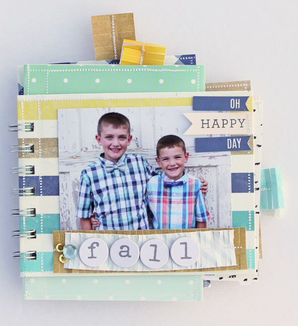 FUSEables Cinch Albums by Samantha Taylor for We R Memory Keepers #FUSEables #thecinch