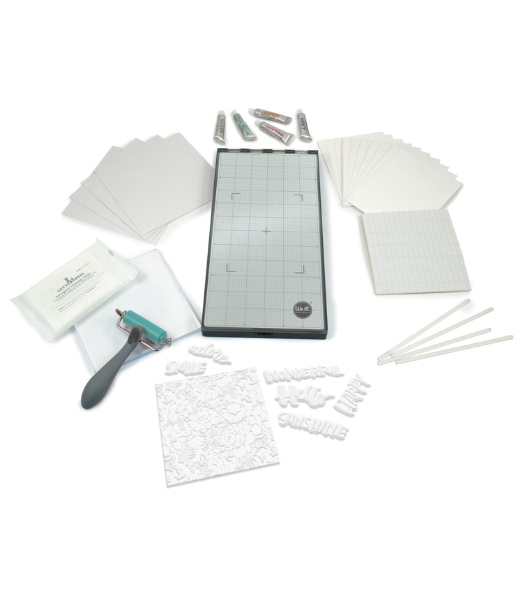 We R Memory Keepers Lifestyle Letterpress Kit available at www.wermemorykeepers.com #letterpress #wermemorykeepers