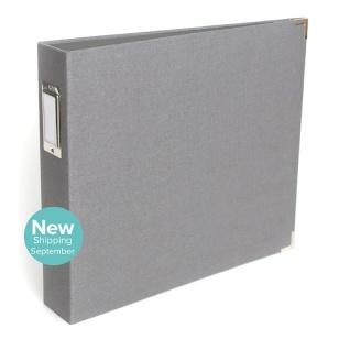 12x12 Grey Linen Album from We R Memory Keepers #scrapbook #scrapbooking