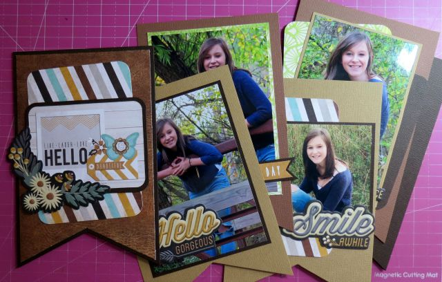 Using Photos with the Banner Punch Board #wermemorykeepers #bannerpunchboard