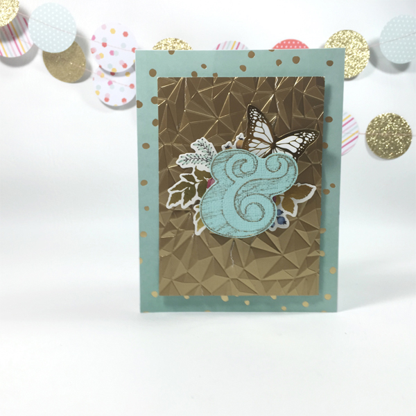 Heat Wave card by Aimee Maddern for We R Memory Keepers #heatwave #cardmaking