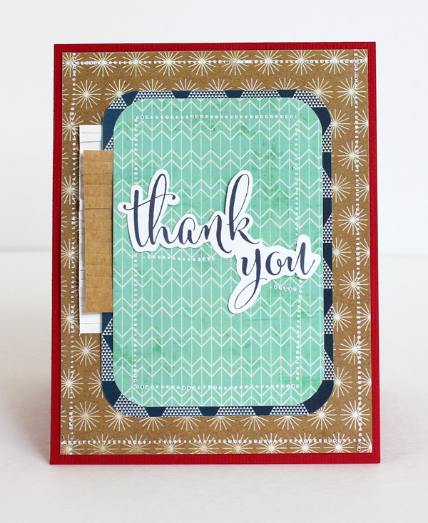 Military Appreciation Card by Samantha Taylor for We R Memory Keepers #FUSEables #123PunchBoard