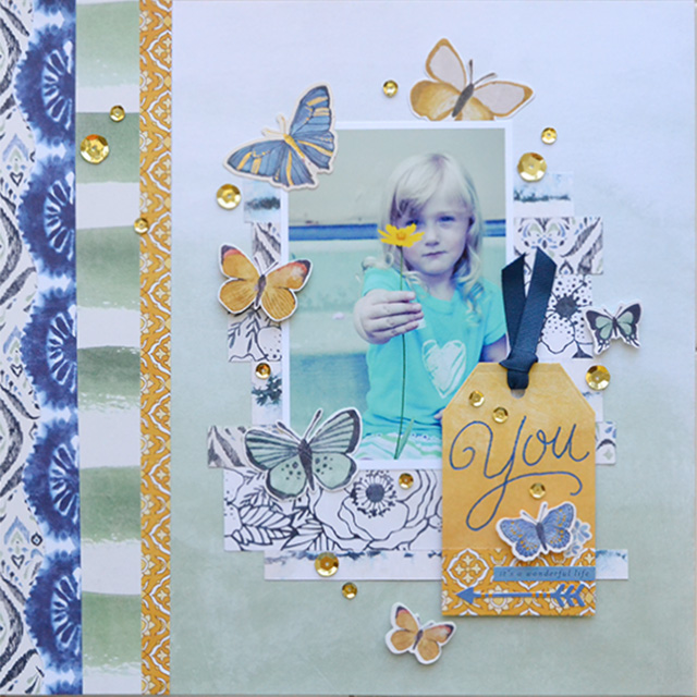 We R Memory Keepers Heat Wave Pen_scrapbook page by Aly Dosdall