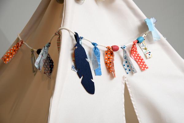 DIY Teepee Kit by Jen McDermott for We R Memory Keepers #DIYteepee #targetcom