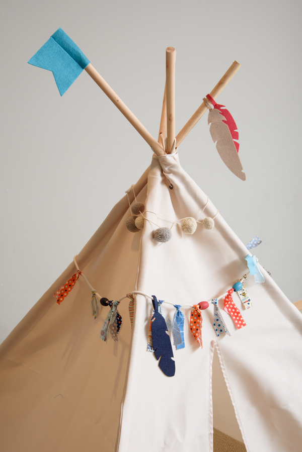 DIY Teepee Kit by Jen McDermott for We R Memory Keepers #DIYteepee #targetcom