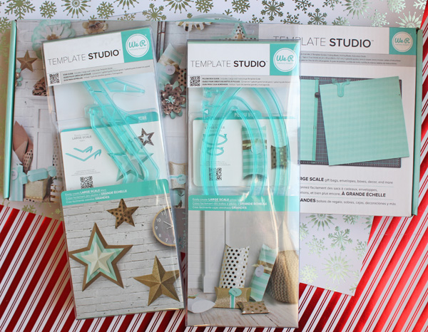 Christmas Pillow Boxes with Star Tags by Samantha Taylor 2